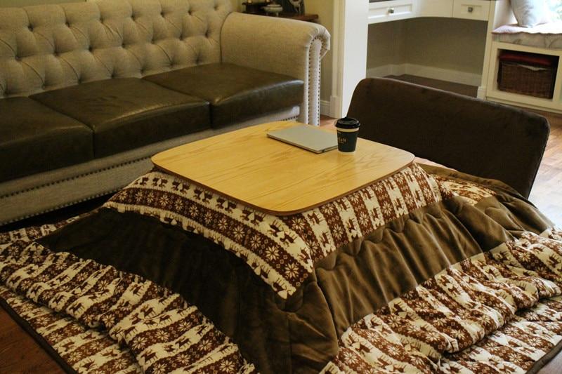 Kotatsu Table With Futon Carpet Heater