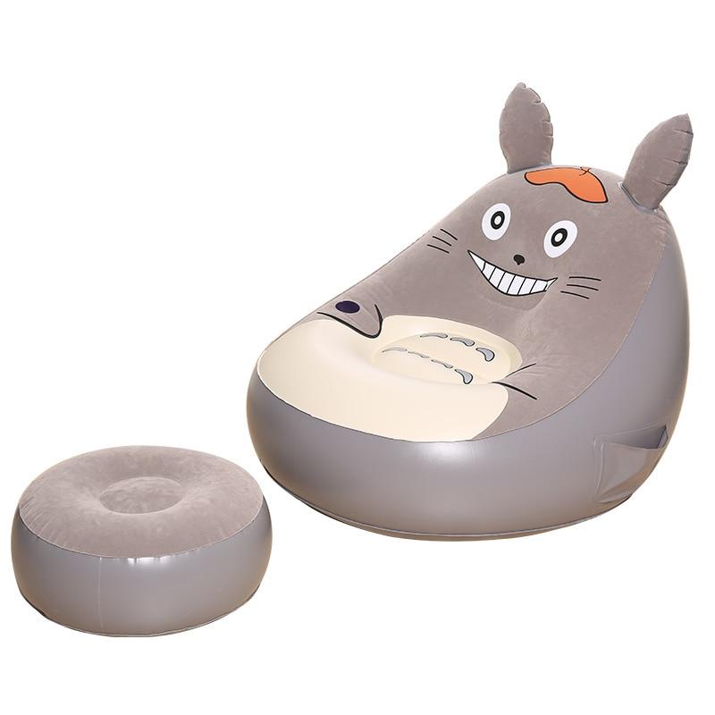 Galleria fotografica 4269 Dell'orso Del Fumetto da letto gonfiabile Giapponese pigro letto tatami piccolo divano sedia pisolino