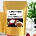 Extracto do mangostão 30% Xanthones Cápsula 500 mg x 180 pcs frete grátis