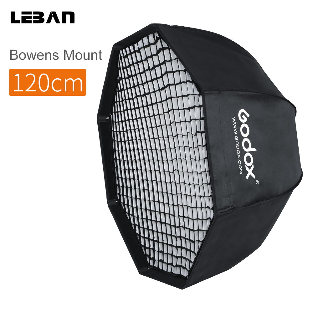 37 Octagon Honeycomb Grid Softbox With Flash Mounting For: Aliexpress.com : Buy Godox SB UE 120cm 47in Portable