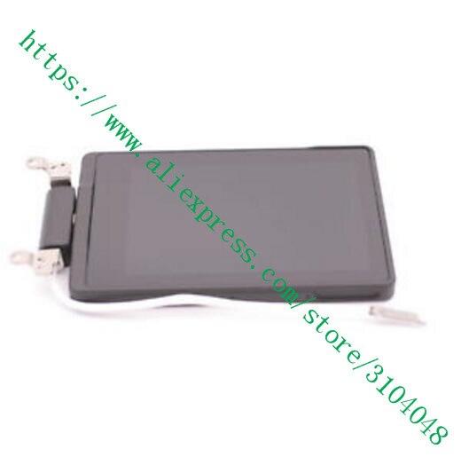 Pièces de rechange pour Canon pour EOS 200D Kiss X9 rebelle SL2 couvercle arrière écran d'affichage LCD Assy avec arbre câble flexible CG2-5553-000
