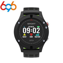 696 NO 1 F5 GPS Smart Watch MTK2503 Altimeter Barometer Thermometer Bluetooth 4 2 Smartwatch Wearable