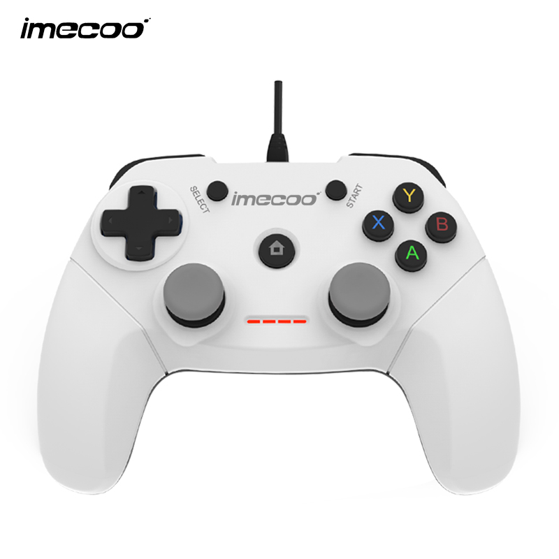 IMECOO Wired Gamepad Gaming Controller Joypad with Bracket for PS3 ...