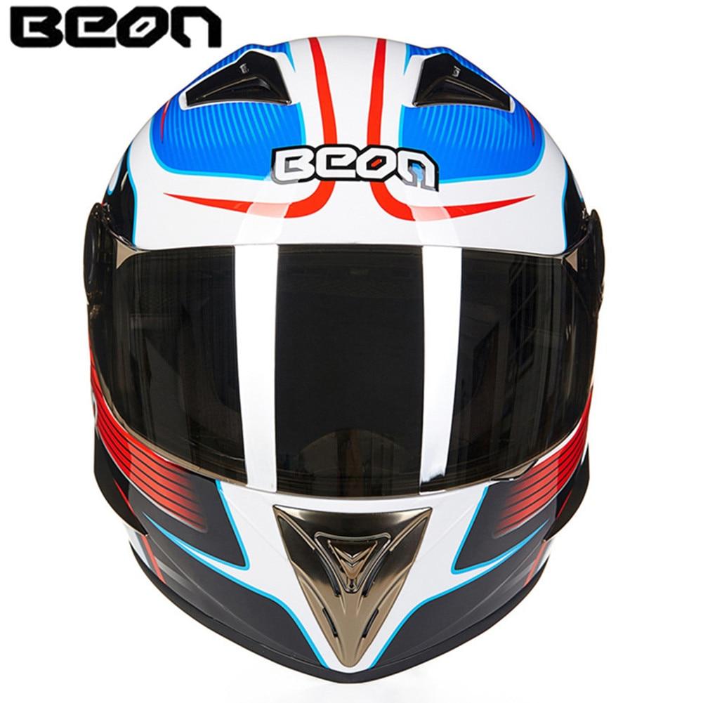 цена на New Motorcycle Helmet Racing Full Face Helmet B50047 Moto Casque Casco motocicleta Capacete Kask helmets Chrome Visor