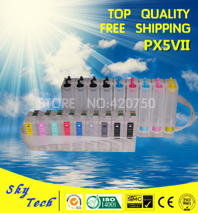CISS suit for Epson sure color PX5VII , Empty CISS For IC79 series cartridges [9 colors] . with ARC chips for epson sure color s30680 s50680 s70680 solvent damper page 2