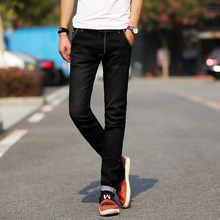 2017 New Street Style six Color Elastic Jeans men pencil  jeans High stretch  Jeans Homme Skinny Jeans Men