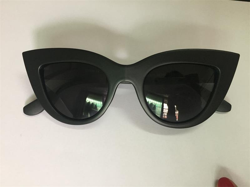 HTB13PgxRFXXXXX8XFXXq6xXFXXXj - Women's cat eye sunglasses ladies Plastic Shades quay eyewear brand designer black pink sunglasses PTC 221