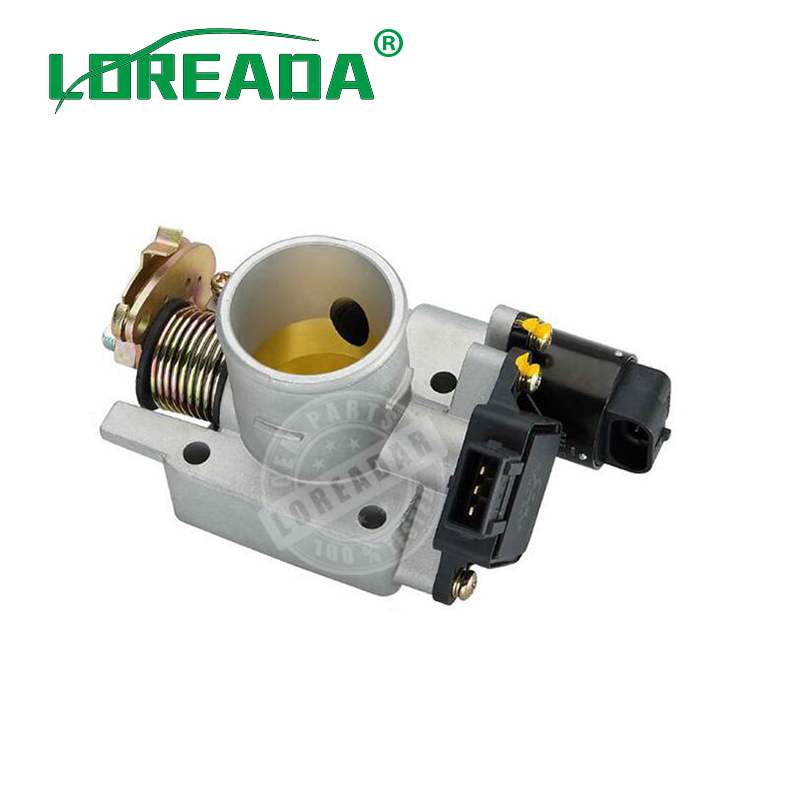 LOREADA Throttle body Assembly for UAES system Chang ' an star 1.0L Engine Bore size 35mm throttle Motor Fuel Injuection New