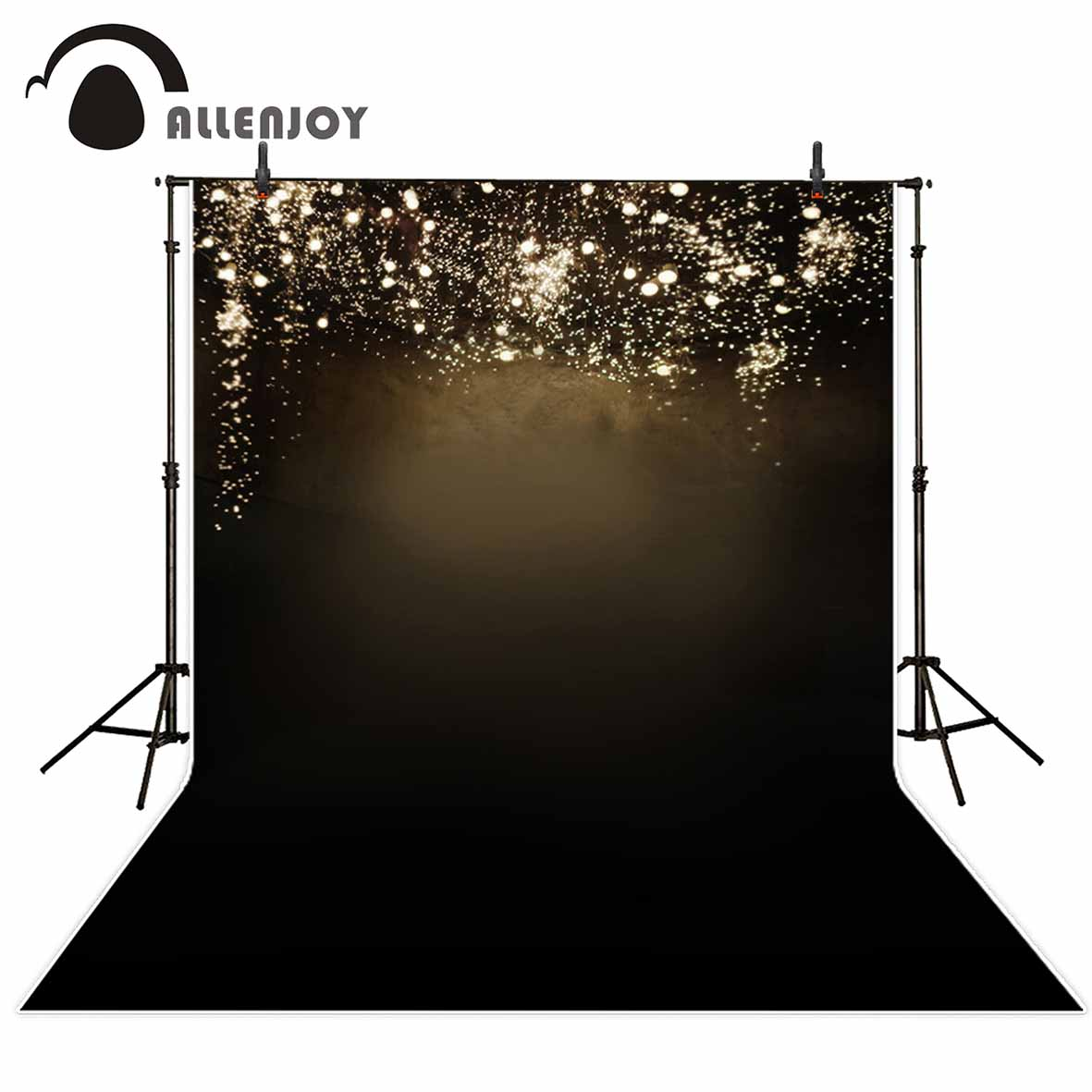 Allenjoy Shiny shimmer and shine background sparkling dots photography backdrops for a photo shoot for photo fund allenjoy christmas village decoration house amusement park foto for a photo shoot photographing background photography