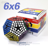ShengShou Megaminxeds Cube 6x6 Puzzle 6x6x6 Elite Kilominx Professional Magic Cube Speed Antistress Toys For Kids Strange Shape