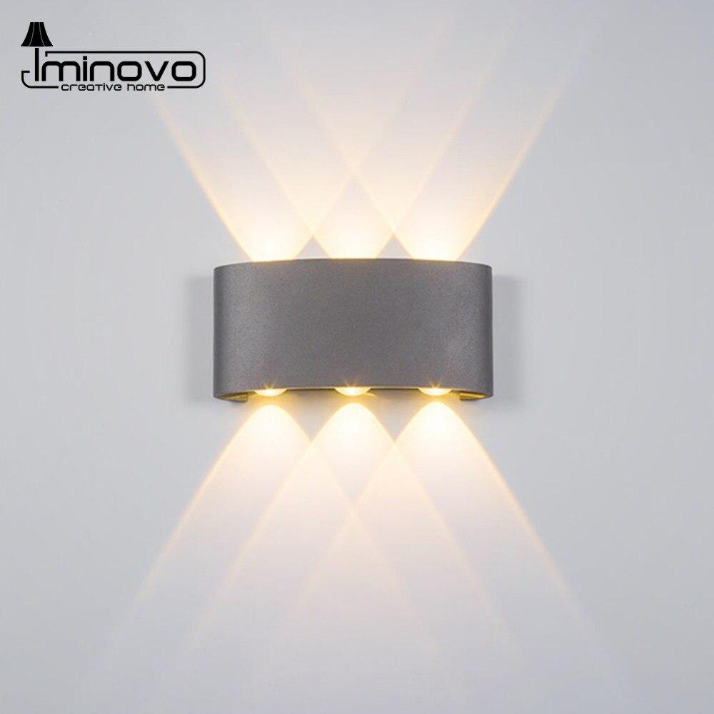 Modern LED Wall Lamp Waterproof 2W 4W 6W Wall Sconce