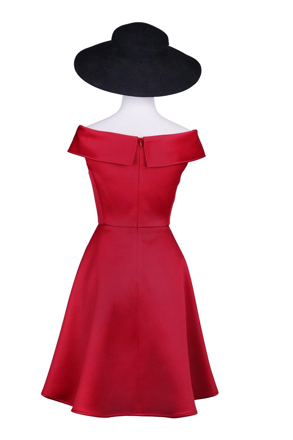 Personnaliser Robe 3xs Été Hepburn Taille S Couche De Vintage 1950 Plus Femmes Parti Automne La Double 10xl Printemps Swing Rétro K1TFclJ