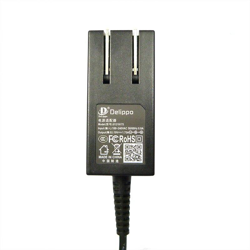 Delippo 19 в 1.75A 4,0*1,35 мм 33 Вт для ASUS Vivobook S200 S220 X200T X202E X553M Q200E X201E блок питания зарядное устройство AC адаптер