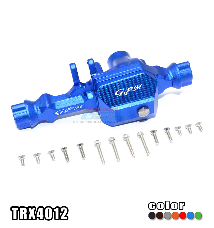 TRAXXAS TRX-4 TRX4 82056-4 Aluminum alloy front wave box -2 parts 1 sets of TRX4012 free shipping traxxas trx 4 trx4 82056 4 pure copper pendulum wheels knuckle axle rotary type weight 21mm hex adapter set trx4023xx