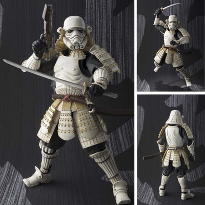 1pcs BB8 Star Wars Classic Movie Revoltech Storm White Soldiers Toys Original Action Figures Collection Model Toy Doll 18cm new hot 18cm one piece donquixote doflamingo action figure toys doll collection christmas gift with box minge3