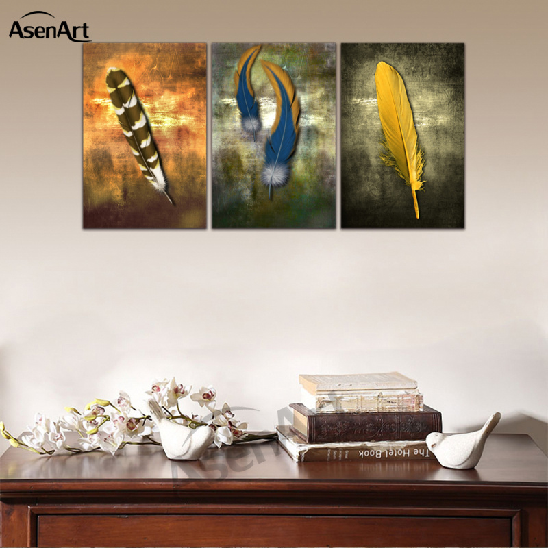 Aliexpress.com : Buy Canvas Wall Art Retro Pictures Color