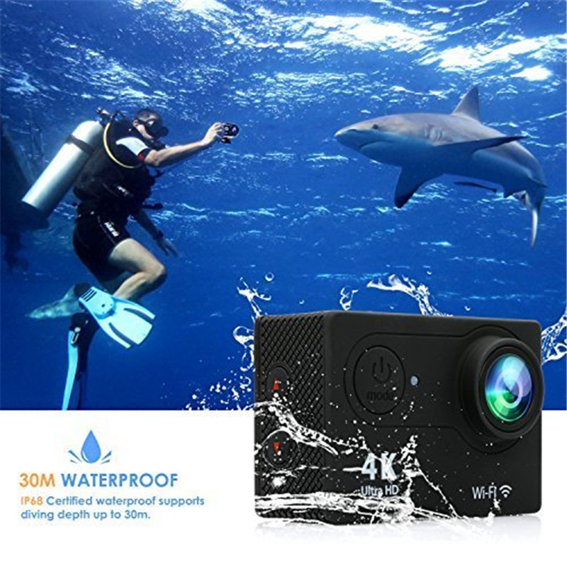 action камера acme vr03 ultra hd 4k Action Camera 4K WiFi Ultra HD Waterproof Sport Camera 2 Inch LCD Screen 12MP 170 Degree Wide Angle