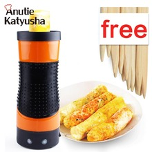 1Pc Automatic Multifunctional Electric Egg Cooker Eggs Pancake Roll Machine Household Rolls Egg Cups With European Plug
