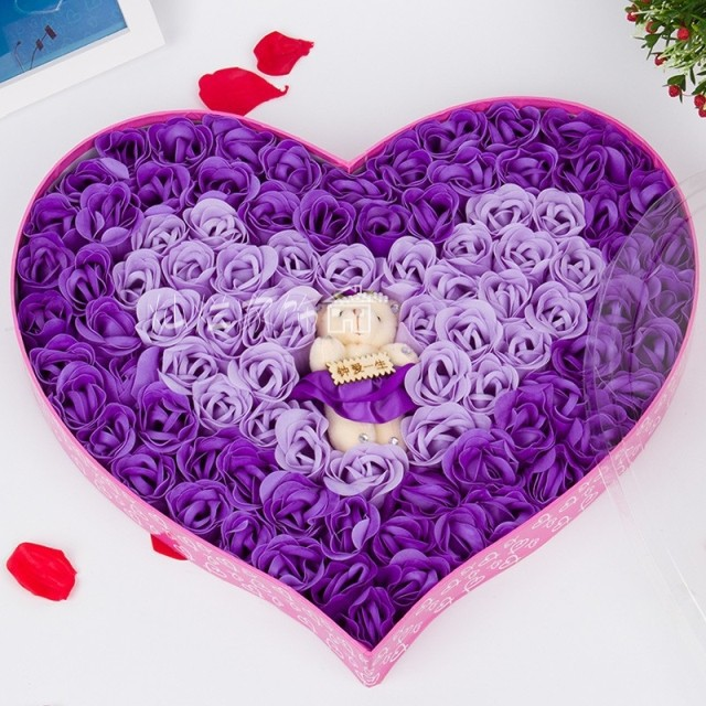 beautiful flower soap flower delivery valentine's day gift ideas, Ideas