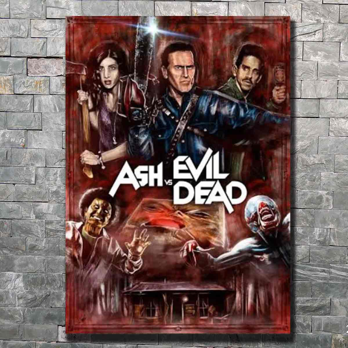 Ash vs Evil Dead Movie Silk Poster 12x18 24x36 inch