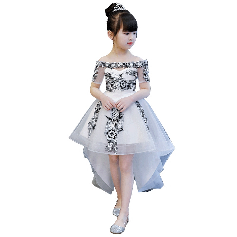 bb661df7231 2019 new teenage girl dresses long formal prom gown for kids girls clothing  wedding party tutu. sku: 32919888838