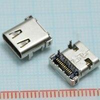 10 Cái dữ liệu tốc độ Cao giao diện micro 3.1 usb TỰ LÀM 24pin USB-C USB 3.1 Loại C mẹ Ổ Cắm Nối SMT loại sạc giao diện