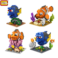 LOZ Finding Nemo Mini Diamond Building Blocks Children Intelligence Models Building Toy Action Figure