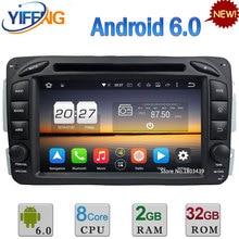 Android 6 Окта основные 2 ГБ RAM 4 Г Автомобильный DVD Радио Для Benz W168 A140 A160 A170 A190 A210 Viano W639 Вито W638 W463 G320 G500 G55 AMG