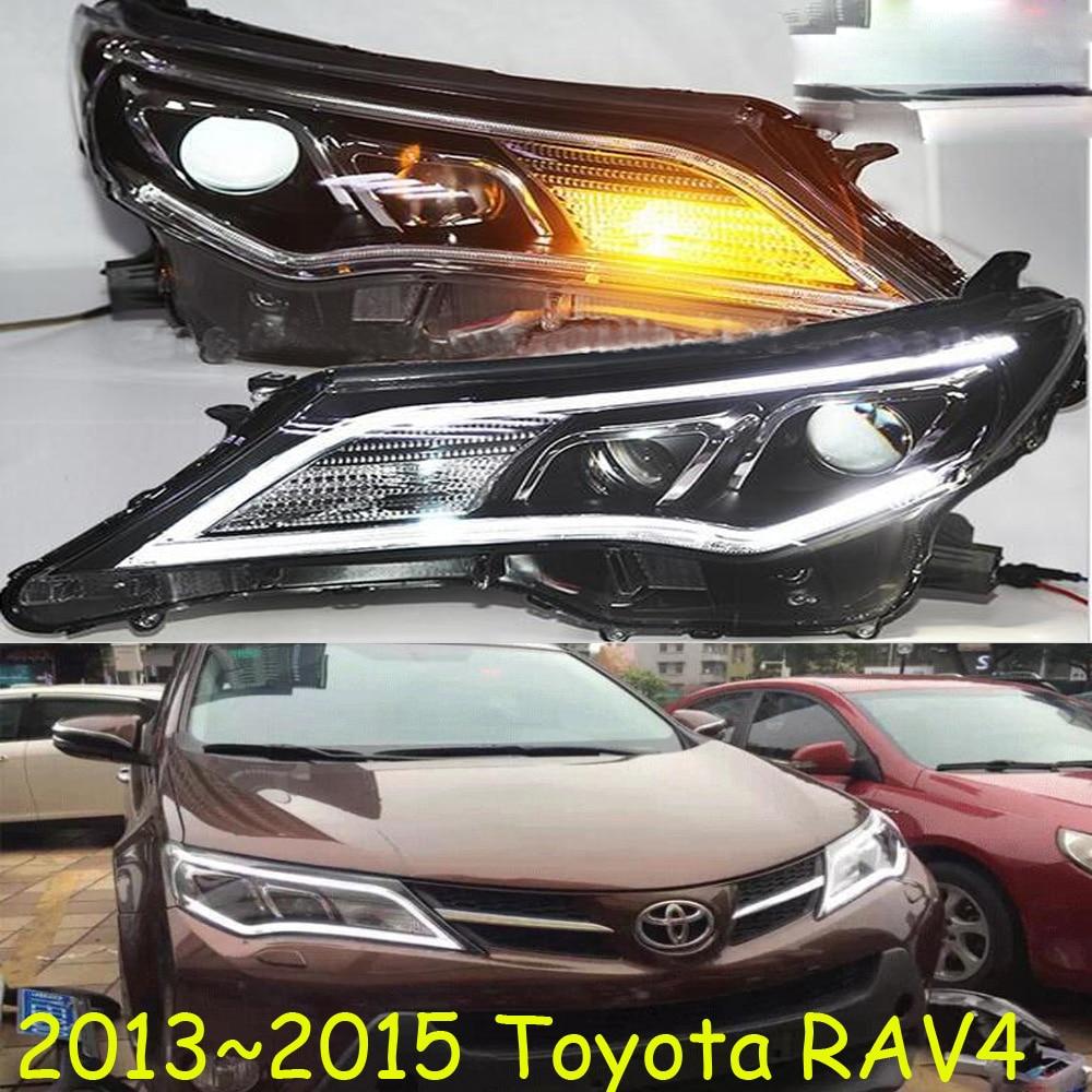 US $494 0 5% OFF|HID,2013~2015,Car Styling for RAV4  Headlight,vios,corolla,camry,Hiace,tundra,sienna,yaris,Tacoma,RAV4 head  lamp
