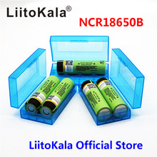 2017 liitokala Оригинальный NCR18650B 3.7 В 3400 мАч 18650 3400 мАч для panasonic литиевая аккумуляторная батарея
