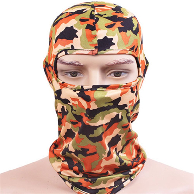 Buy Bulk 80pcs Cheap Camouflage Masks Balaclavas Beanies Men Summer Camo Full Face Mask Mens Sport Skull Balaclava Beanie Cap