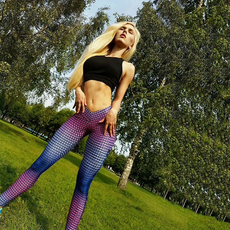 Women Buttocks Yoga Pants Compression Tights Sport Leggings Fitness Elastic Quick Dry Running Bodybuilding Female Jogging