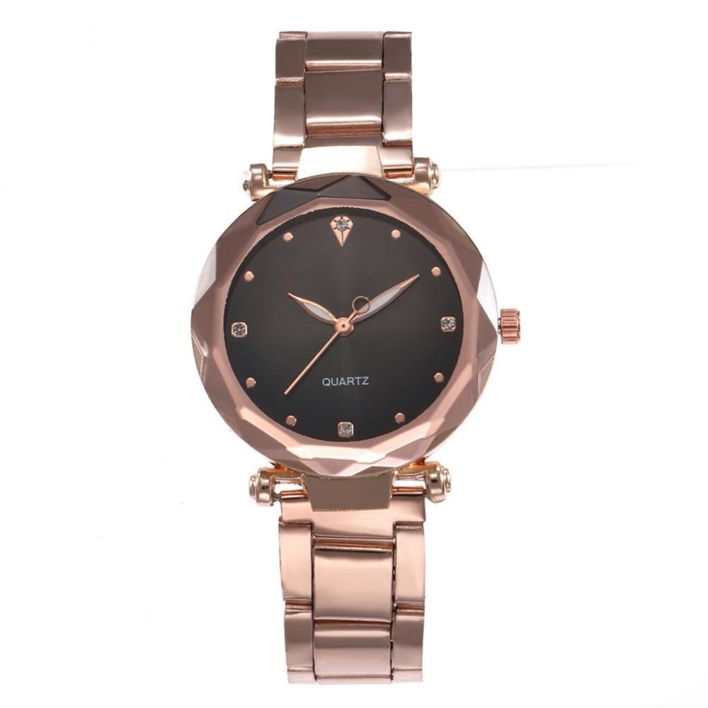 Best Sell Women Watches Stainless Steel Belt Fashion Classic Hot Sale Luxury Crystal Rhinestone Analog Quartz WristWatches Fi