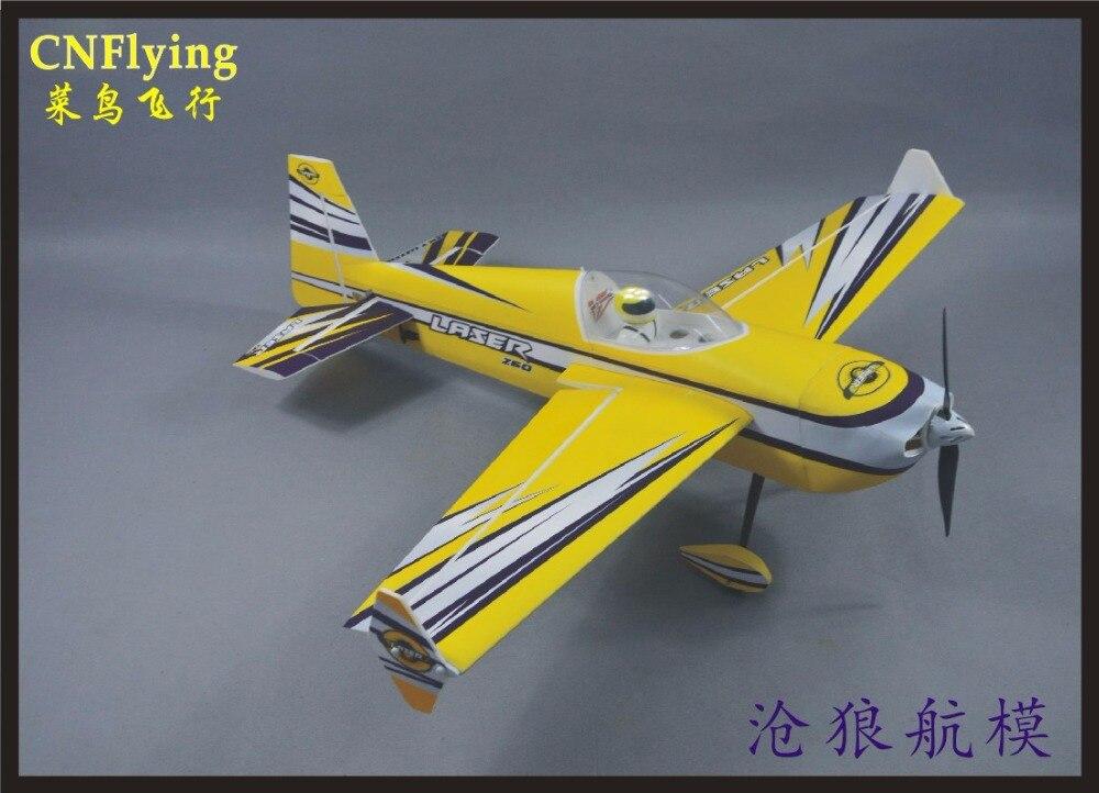 SKYWING NOUVELLE PP matériel AVION RC 3D avion RC MODÈLE PASSE-TEMPS JOUETS envergure 48 30E LASER260 3D avion KIT