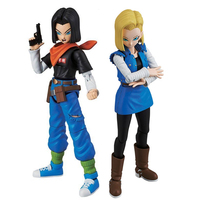 Dragon Ball Z Figure Rise Standard Android No.17&18 Building Kit Japan Anime Collectible Mascot Toys 100% Original