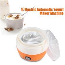 1L Electric Automatic Yogurt Maker Machine Yoghurt DIY Tool Plastic Container Kithchen Appliance 220V