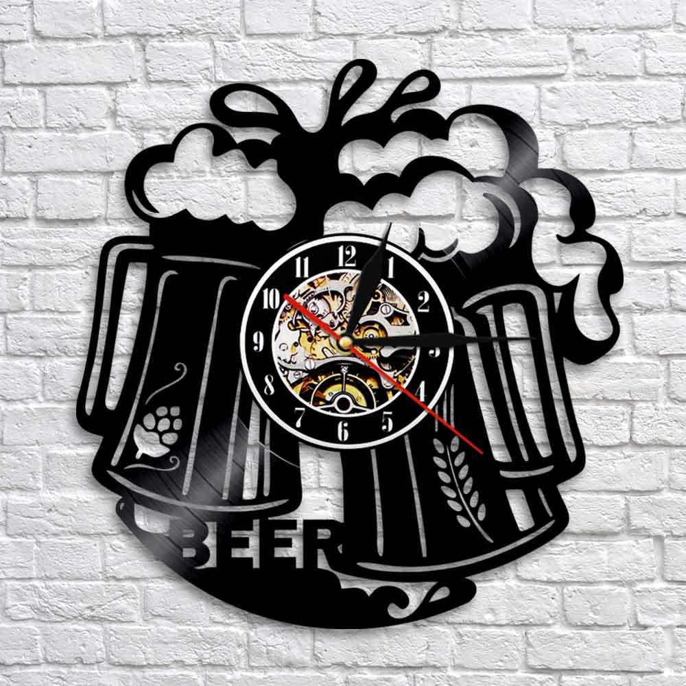 Tooheys Pattern #1 Beverage Beer Bar Pub Club Round Wall Clock