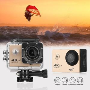 Image 2 - חדש F60R 4K WIFI מרחוק פעולה מצלמה 1080P HD 16MP 170 תואר רחב זווית 30m Waterproof ספורט DV מצלמה לgopro קידום