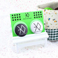 Youpop Wholesale KPOP Fan EXO EXO-K EXO-M Miracles in December Logo Pins Men and Women Brooches