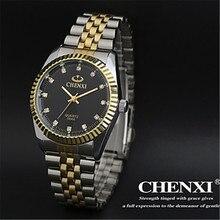 2016 Chenxi Relojes Mujeres de Los Hombres de Lujo Relogio Feminino Reloj de Cuarzo Moda Mujer Relojes Mujer de Los Hombres de Negocios de Pulsera
