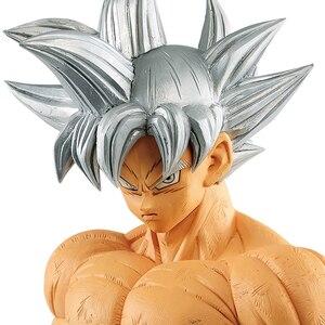 Image 2 - Tronzo 28cm oryginalny Banpresto Dragon Ball Super Grandista ROS GROS Goku Ultra instynkt PVC model postaci zabawki DBZ prezenty