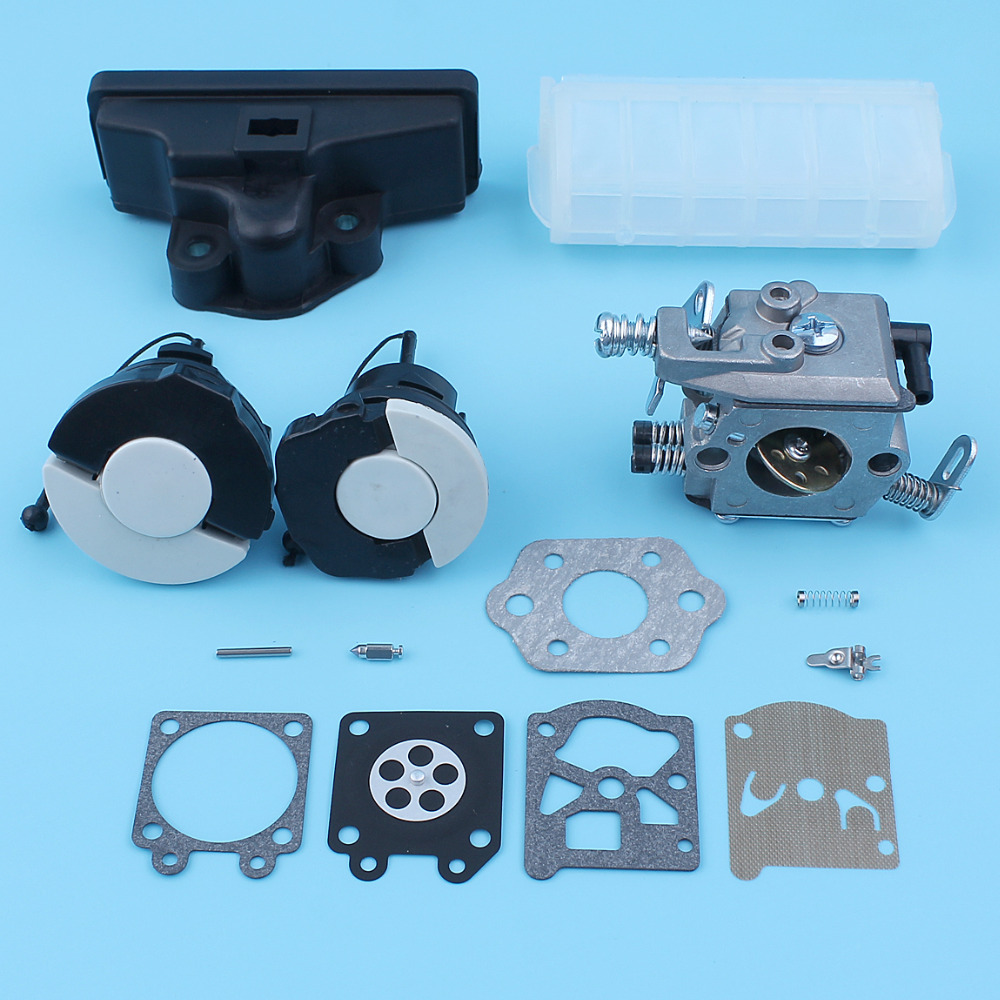 Carburetor Carb Gas Fuel Oil Tank Cap Air Filter Kit For Stihl MS250 MS230 MS210 MS 210 230 250 Chainsaw carburetor oil fuel line intake boot cap for chainsaw stihl 044 046 ms440 ms460