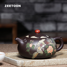 300ml Authentic Yixing Teapot Chinese Kung Fu Tea Set Purple Clay Health Phoenix Xi Shi Pot Creative Kettle Tieguanyin Tea Pot(China)