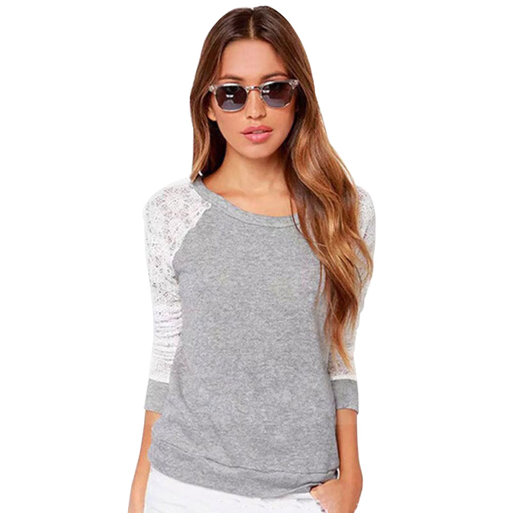 Camisas Femininas 2017 Fashion Plus Size font b Women s b font Backless Long Sleeve Embroidered