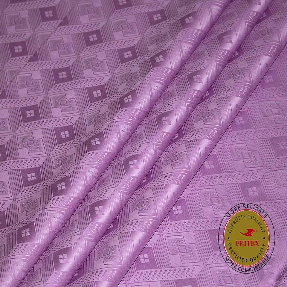 Classic African Fabric Germany Import Cotton Yarn Bazin Riche Royal Shadda Brocade for Wedding Clothing 2019