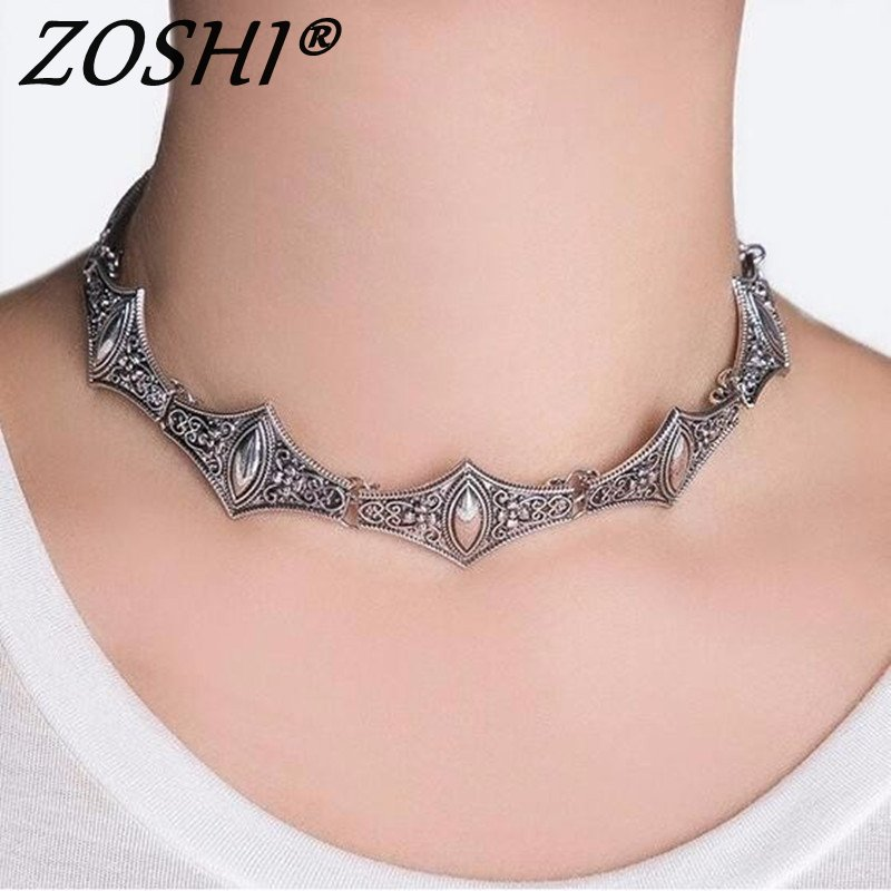 Korean Tibetant Silver Choker Necklace Statement Girlfriend Gift Cute Silver Bell Necklace Jewelry Collier Femme 2019 Leather Bag