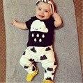 Новое поступление ребенка bebes мальчик одежда детская одежда хлопок новорожденных экипировка повседневная с длинным рукавом с брюки комплект одежды розничная YAA014