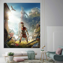 цена на Nordic Poster Game Wallpaper Canvas Painting Prints Living Room Home Decoration Modern Wall Art Oil Painting Posters Picture HD