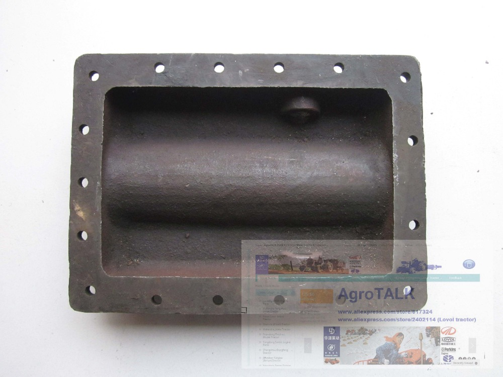 Fengshou Lenar 254 II tractor parts, the cover for oil sump, part number: fengshou lenar 254 tractor part the radiator for engine nj385 part number