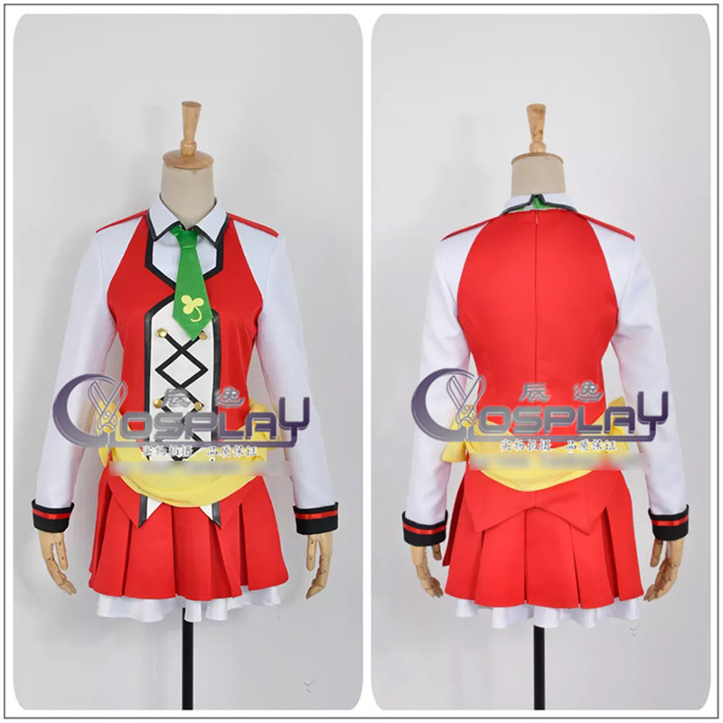 Anime LOVE LIVE 2 Koizumi Hanayo Action Figure SUNNY DAY SONG Uniform Cosplay Costume Full set Halloween Costume for Women